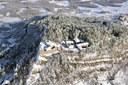 Un'immagine del Forte di Sestola dall'alto