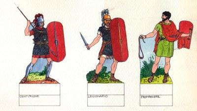Disegno Di Ufficio : Soldati dell esercito romano disegno di riccardo merlo g