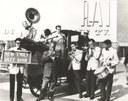 New Emily jazz band con Louis Armstrong alla Rai di Roma, 1959, trasmissione Il Musichiere.jpg