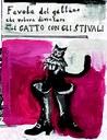 14) Gianluigi Toccafondo, Favola del gattino che voleva diventare il gatto con gli stivali, 2017, copertina.jpg