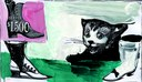 9) Gianluigi Toccafondo, Favola del gattino che voleva diventare il gatto con gli stivali, 2017.jpg