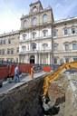 scavi mura repubblicane romane in piazza Roma accademia.jpg
