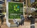 Citytrees: il rendering di un pannello biotecnologico