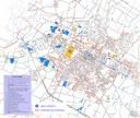 La mappa dei parcheggi