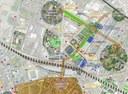 L'area a nord della fascia ferroviaria del Programma di riqualificazione