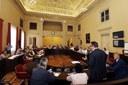 Modena - Matera, un momento dell'incontro in Municipio