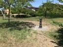 """La fontana installata al parco """"Giallo"""" di Villanova"""