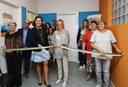 Il taglio del nastro del servizio AModo con l'assessora regionale Elisabetta Gualmini e l'assessora comunale Giuliana Urbelli