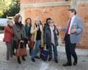 Il sindaco Muzzarelli con l'assessora Guadagnini e un gruppo di rappresentanti delle associazioni delle donne