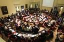 Sala del Consiglio 80° leggi razziali e Formiggini.jpg