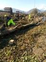 Il Gruppo comunale dei volontari di protezione civile di Modena in aiuto a Feltre dopo il maltempo in Veneto
