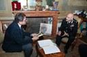 Il sindaco e il generale Bernardini