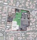 L'area interessata dai divieti di sosta  lunedì 2 dicembre