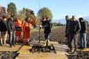 Il sindaco Muzzarelli piantuma il primo albero del bosco urbano di Vaciglio