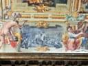 Miracoli di San Geminiano nelle Sale storiche. Attila