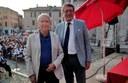 Remo Bodei e il sindaco Muzzarelli