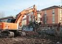 Ex Mercato Bestiame, demolizione muro di cinta