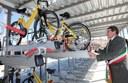 Inaugurazione di Porta nord, il nuovo deposito protetto per bici della Velostazione