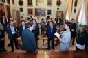 L'incontro della delegazione con il sindaco Gian Carlo Muzzarelli