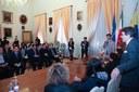 Un momento dell'incontro in Municipio
