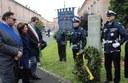 Vittime del terrorismo, la deposizione della corona alla stele per Aldo Moro e la sua scorta