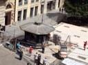 Si sposta l'edicola di piazza Mazzini 3