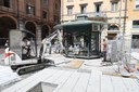 Si sposta l'edicola di piazza Mazzini