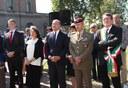 La cerimonia commemorazione dell'11 settembre