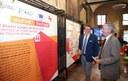 """Il sindaco Muzzarelli e Massimo Gaudina, Commissione Ue, alla presentazione della mostra """"Welfare? Benfatto!"""""""