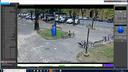 Immagine dalla telecamera in via V.Veneto