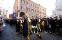 Il corteo storico in via Emilia