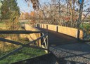 L'ipotesi di come sarà il nuovo ponte ciclopedonale