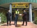 """La donazione di mascherine alla Protezione civile da parte dell'associazione """"Futuro Sereno"""""""