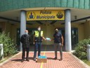 """La donazione di mascherine alla Protezione civile da parte dell'associazione """"Salvabi"""""""