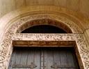 Architrave della porta dei Principi del Duomo di Modena con il ciclo dedicato a S.Geminiano
