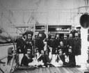 Gli ufficiali a bordo della Corvetta Vettor Pisani.jpg
