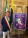 Il sindaco Muzzarelli per la campagna per la fibromialgia