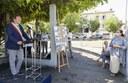 L'intervento del sindaco Gian Carlo Muzzarelli, presente assieme all'assessora all'Ambiente Alessandra Filippi