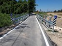 Il ponte di via Curtatona riaperto