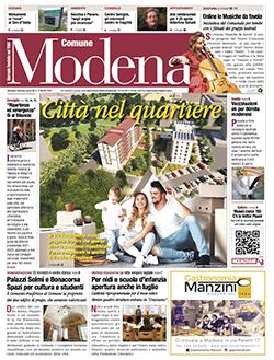 Copertina Modena Comune - Aprile 2021